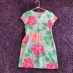 Lily Pulitzer girls mini Brewster T-Shirt Dress